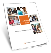 "Cover of the guide, ""Youth and Credit: Protecting the Credit of Youth in Foster Care."""