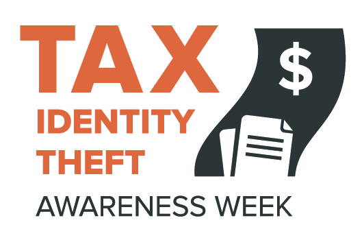 tax identity theft logo
