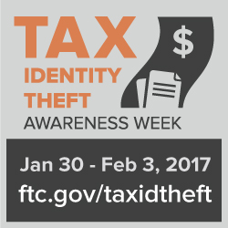square tax identity theft button