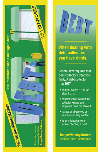 Dealing with Debt bookmark