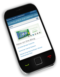 consumer center mobile website
