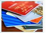 Image of credit and debit cards
