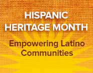 Hispanic Heritage Month badge