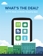 mobile shopping apps report cover