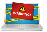 Computer Screen Warning