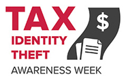 tax identity theft awareness week logo
