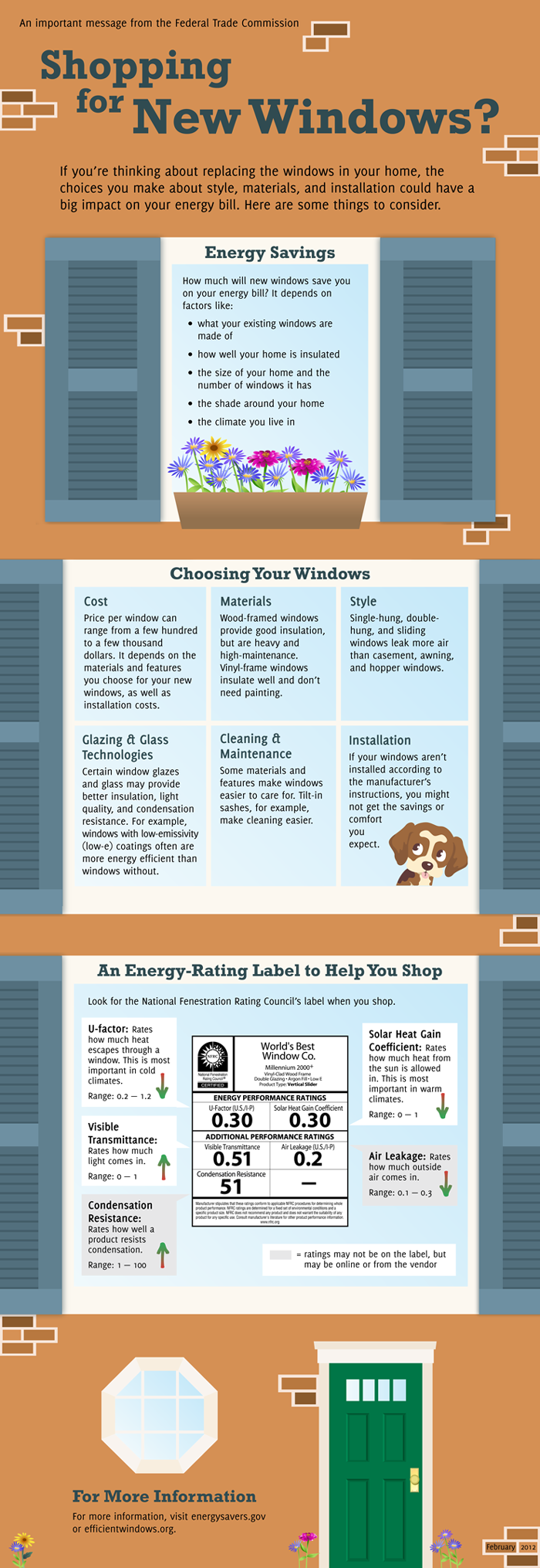 Shopping for New Windows? What to consider before replacing your home's windows and factors that could affect your energy savings.