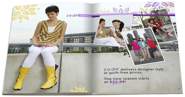 sample magazine ad