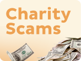 Charity scams rotator image
