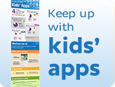Keep up with kids' apps