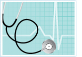Stethoscope and heart monitor