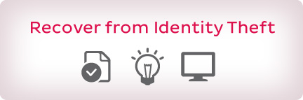 Recover from Identity Theft