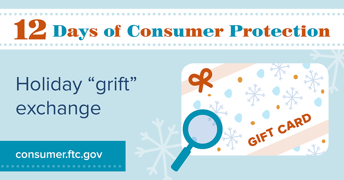 """Holiday """"grift"""" exchange"""