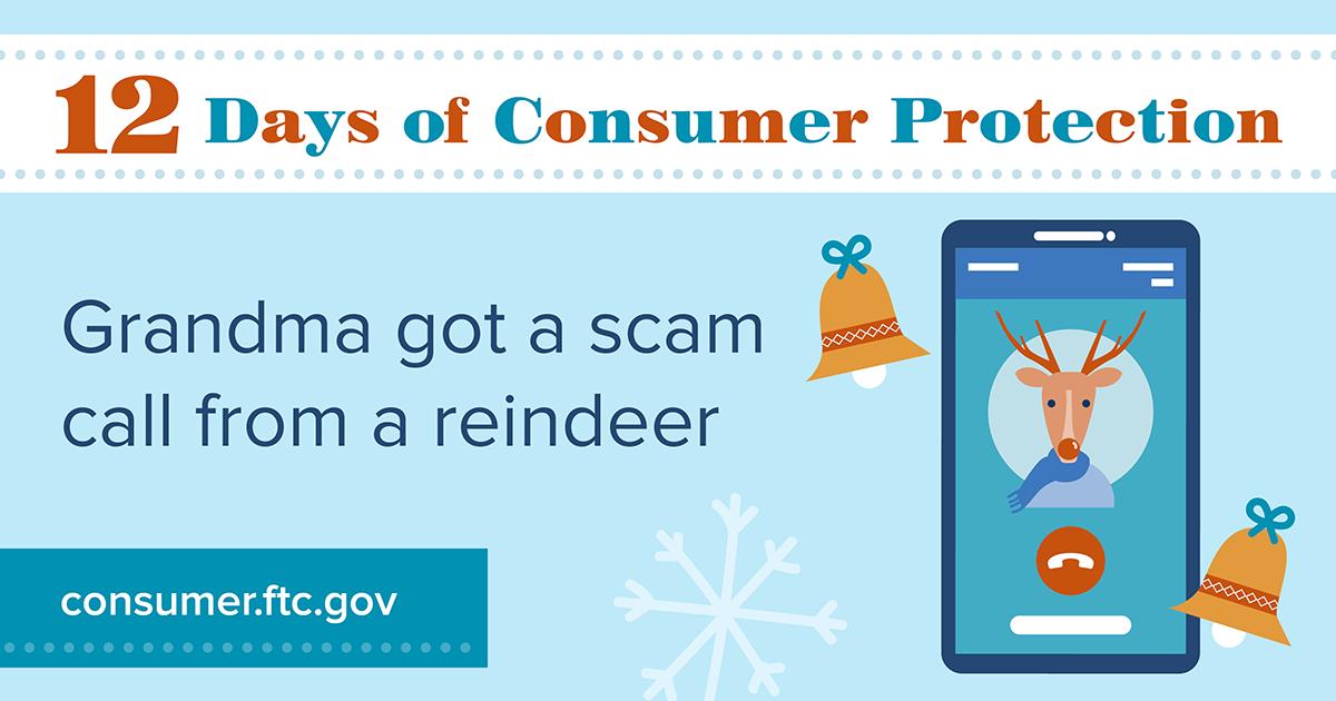Grandma got a scam call from a reindeer
