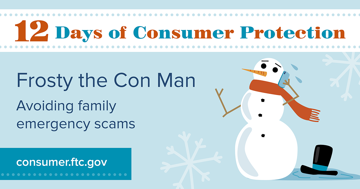 Frost the Con Man: Avoiding family emergency scams