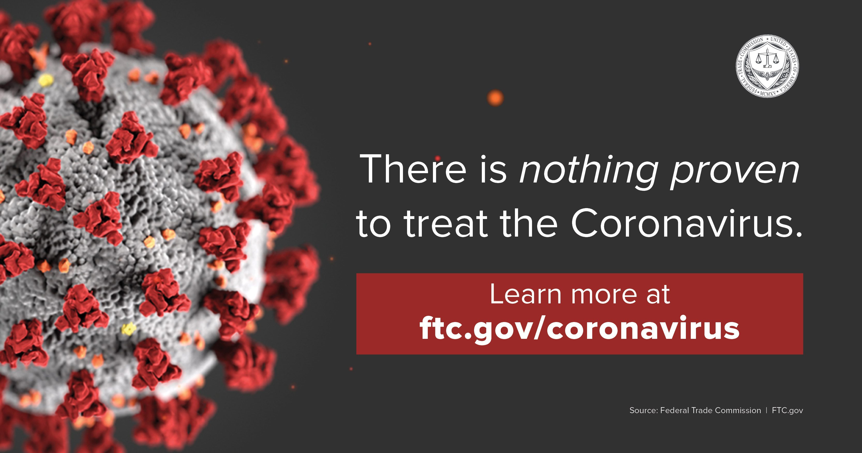 There is nothing proven to treat the Coronavirus