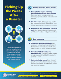 ti[s to help avoid post disaster scams