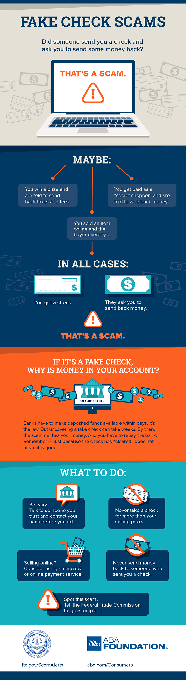 Anatomy Of A Fake Check Scam Page 2 Ftc Consumer Information
