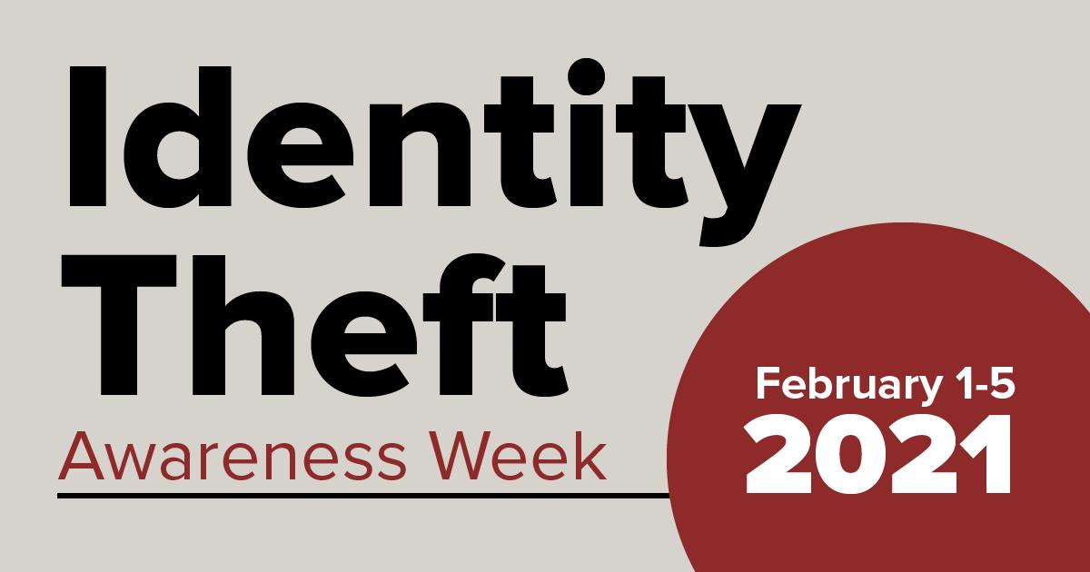 Identity Theft Awareness Week logo