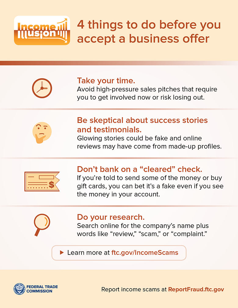 4 things to do before you accept a business offer
