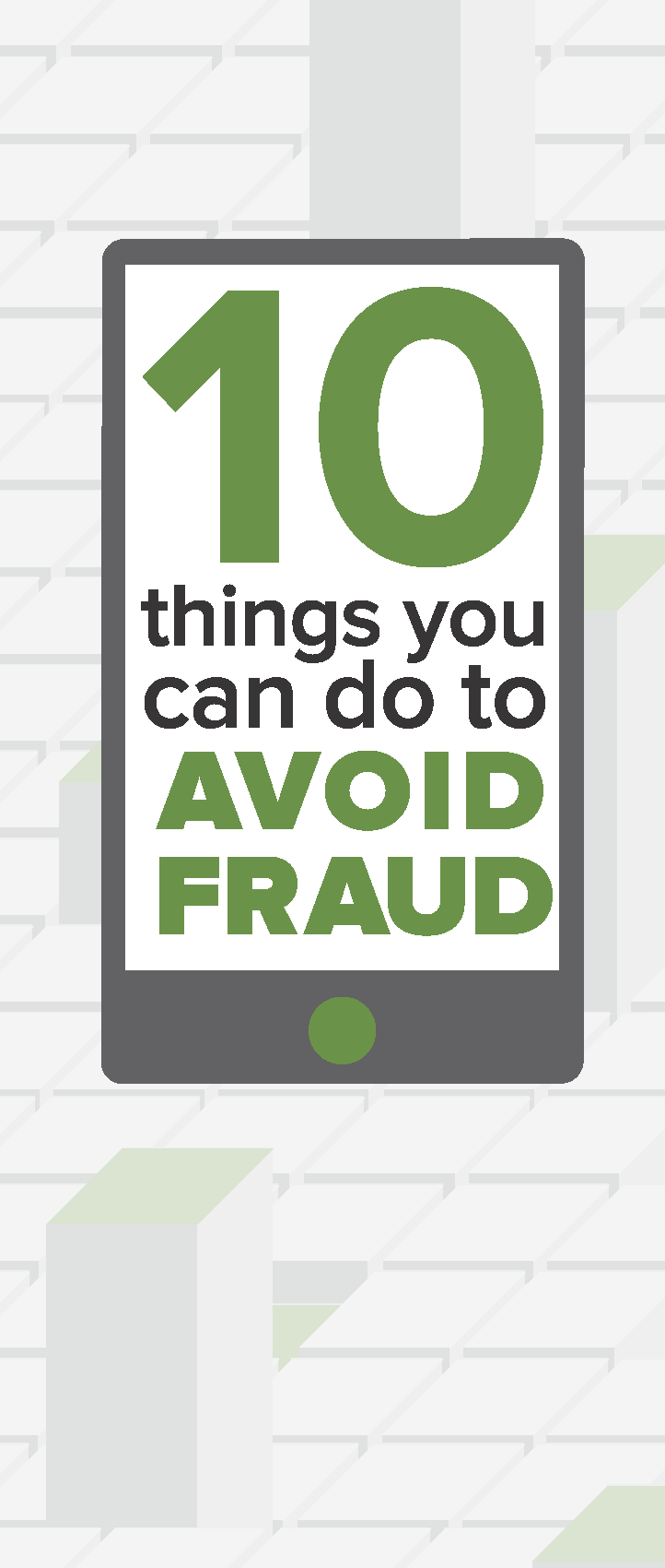 10 Things You Can Do To Avoid Fraud pamphlet cover