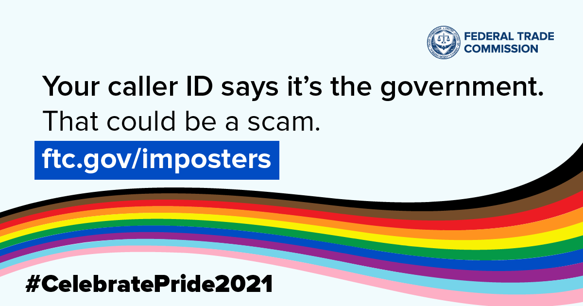 Pride Month social media image