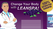 Fake ad for LeanSpa weight loss product