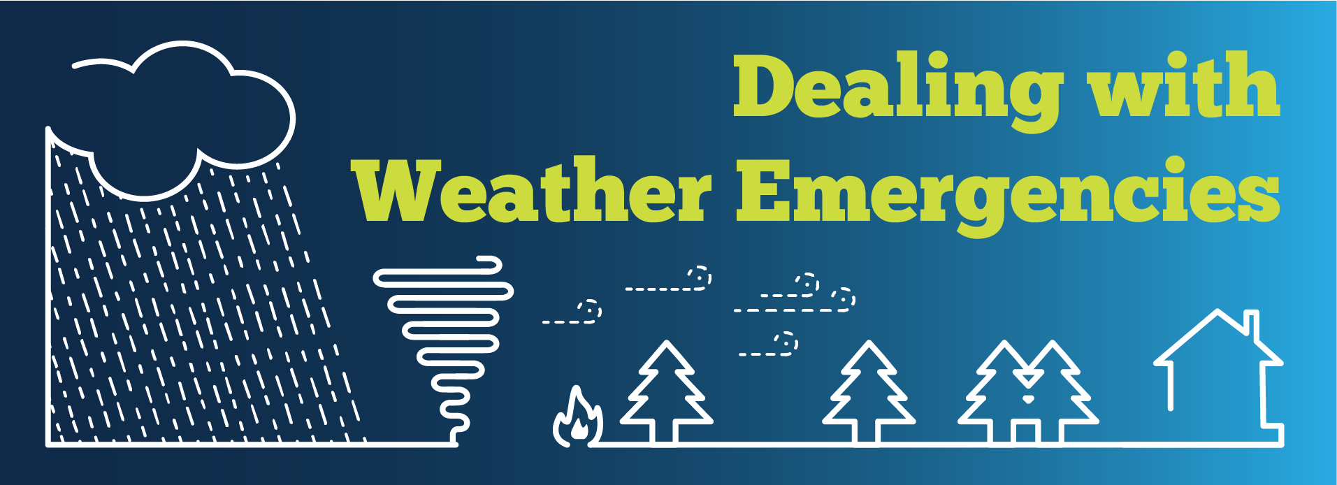 Weather Emergency Banner
